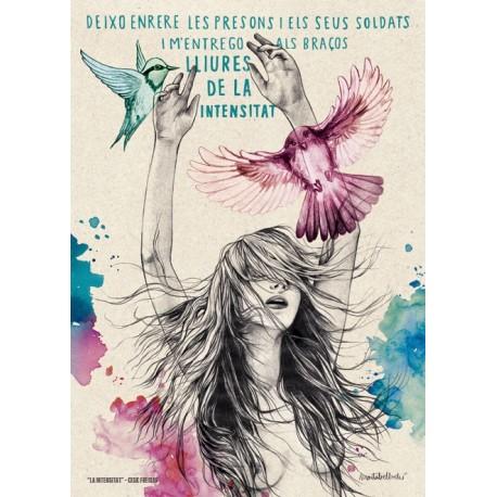 Làmina il.lustració de la cançó La intensitat de Cesk Freixas