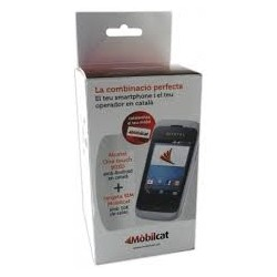 Lot mòbil Alcatel One Touch 292+SIM portabilitat+10€