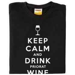 Samarreta Keep calm and drink priorat wine