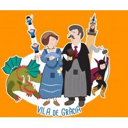 Samarreta infantil Vila de Gràcia - Festa