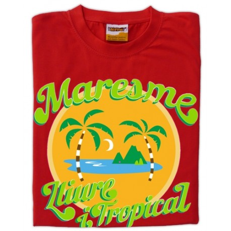 Samarreta Maresme lliure i tropical