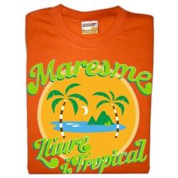 Samarreta infantil Maresme lliure i tropical