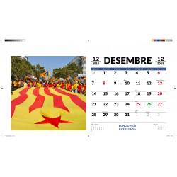 Calendari hol·lograma 3D El nou país Catalunya 2015-2016