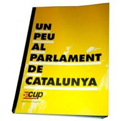 """Llibre """"CUP: Un peu al Parlament de Catalunya"""""""