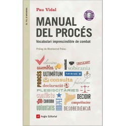 "Llibre ""Manual del procés - Vocabulari imprescindible de combat"""