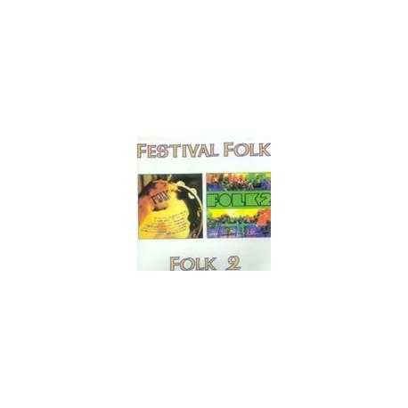 CD Grup de Folk - FOLK2 i Festival folk (2 LPs en 1 CD)