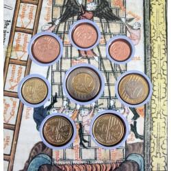 Cartereta 8 Proves Numismàtiques CATALUNYA 2015
