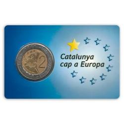 Prova numismàtica individual Catalunya cap a Europa
