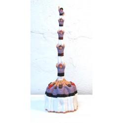 Figura de goma reproducció pilar (diversos colors de camisa)