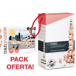 Pack El nan casteller - Joc de 40 peces + Nan Puzzle