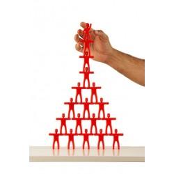 Caixa 100 peces castellers plàstic Cims
