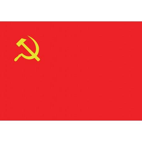 Bandera comunista Falç i martell