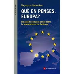 Llibre Què en penses, Europa?