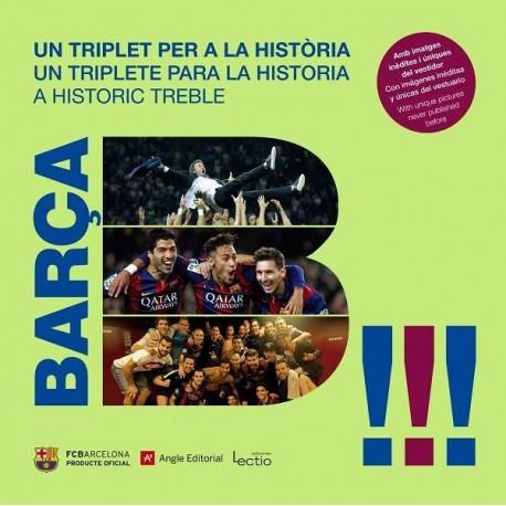 Llibre Barça. Un triplet per a la història