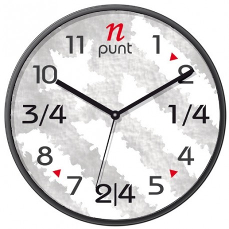 Rellotge de paret estelada
