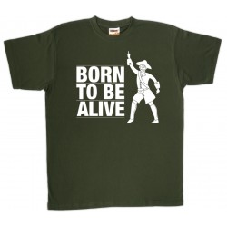Samarreta unisex Born to be alive