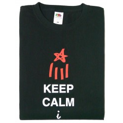 Samarreta Keep Calm & fes país
