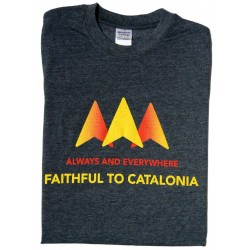 Samarreta Always and evertywhere - Faithful to Catalonia
