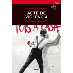 Llibre Acte de violència, de Manuel de Pedrolo