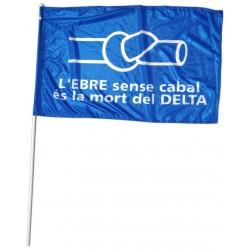 Bandera nus anti-transvasament de l'Ebre