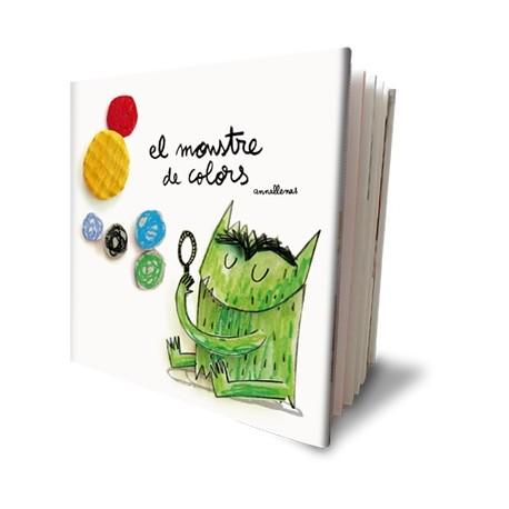 Llibre El monstre de colors