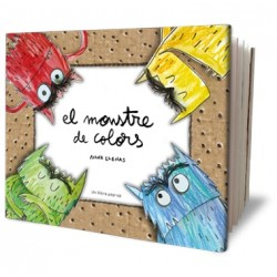 Llibre El monstre de colors pop-up