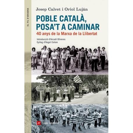 Llibre Poble català, posa't a caminar