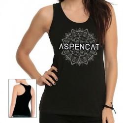 Samarreta NOIA Aspencat model Mandala negra