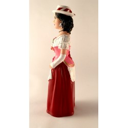 Figura de goma de la Geganta americana (Cubanita) de Sitges