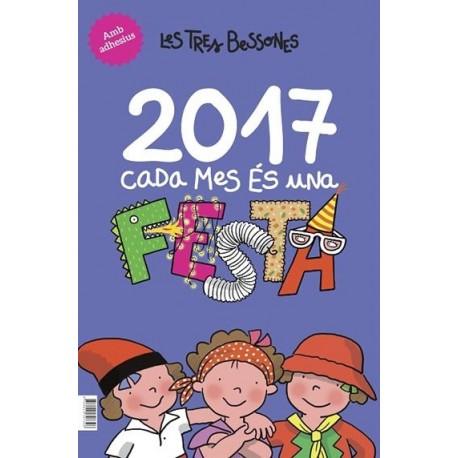 Calendari de Les Tres Bessones 2017 - Cada dia és una festa