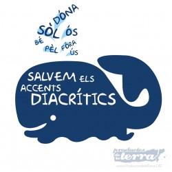 Samarreta Salvem els accents diacrítics