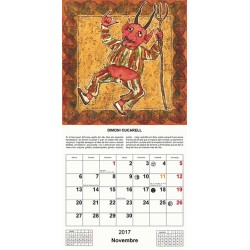 Calendari 2017 d'elements de la mitologia catalana