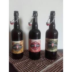 Ampolla 75cl cervesa artesana Sant Jordi - La Cuca