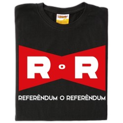Samarreta màniga llarga unisex Referèndum o Referèndum