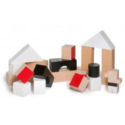 Joc de fusta El nan casteller - Nanblocks
