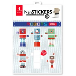 Adhesius El Nan Casteller Stickers ROBOTS