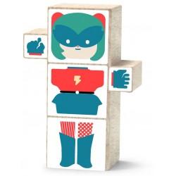 Adhesius El Nan Casteller Stickers SUPERHEROIS