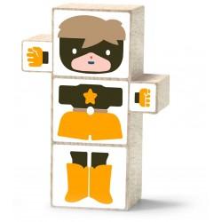 El Nan Casteller Stickers SUPERHEROIS