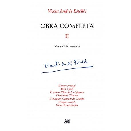 Llibre Vicent Andrés Estellés - Obra completa II
