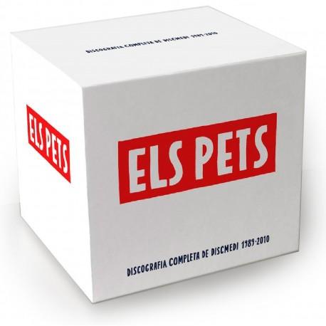 Caixa Els Pets - Discografia completa de Discmedi (1989-2010)