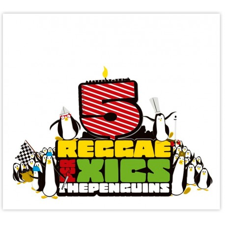 LP Vinil The Penguins - Reggae per xics 5 anys