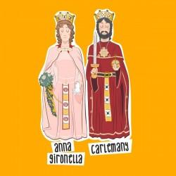 Samarreta Gegants de la ciutat de Girona