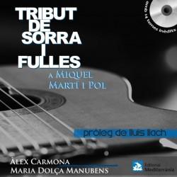 Llibre-CD Tribut de sorra i fulles a Miquel Martí i Pol