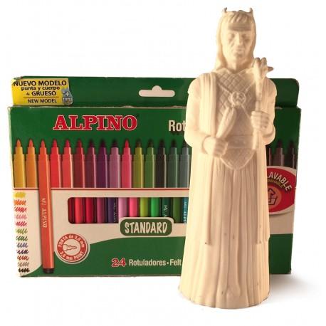Kit per pintar la Figura de goma del Gegant Diable de Martorell