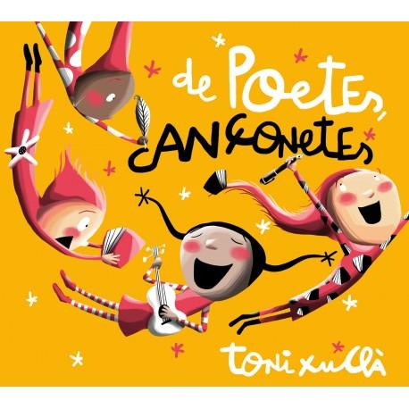 CD De poetes, cançonetes, de Toni Xuclà