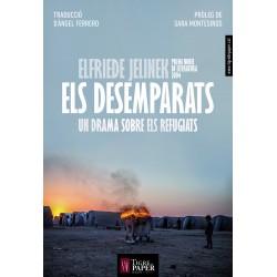 Llibre Els desemparats, un drama sobre els refugiats.