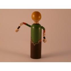Reproducció artesanal figures de fusta de la parella de Gegants del Pi de Barcelona
