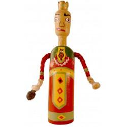 Reproducció artesanal figura de fusta del gegant de Solsona