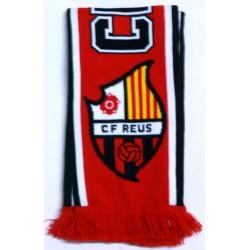 Bufanda CF Reus Deportiu vermell-negre/negre-vermell