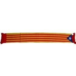 Bufanda de punt Independència-Estelada